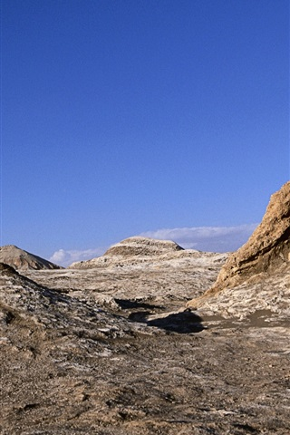 iPhone Wallpaper Atacama Desert, Chile, rocks