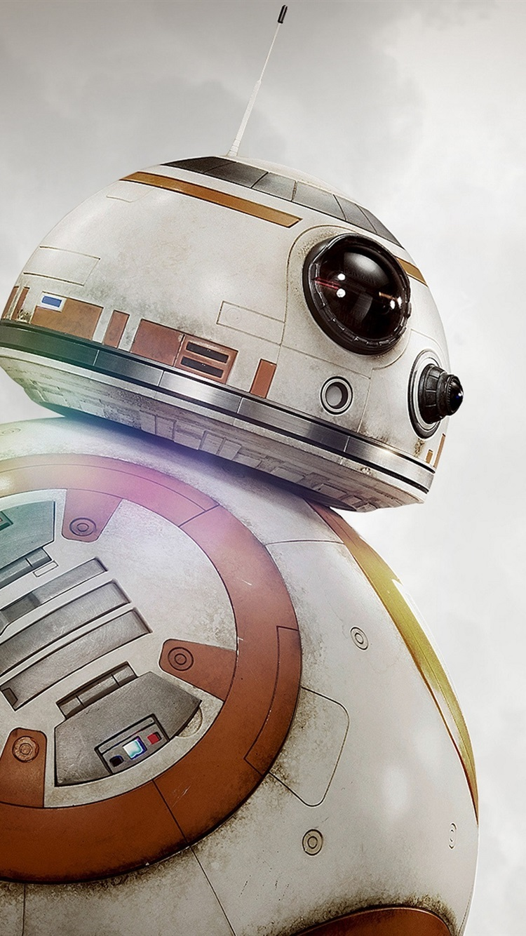 Wallpaper Bb 8 Robot Star Wars The Force Awakens 2560x1600 Hd Picture Image