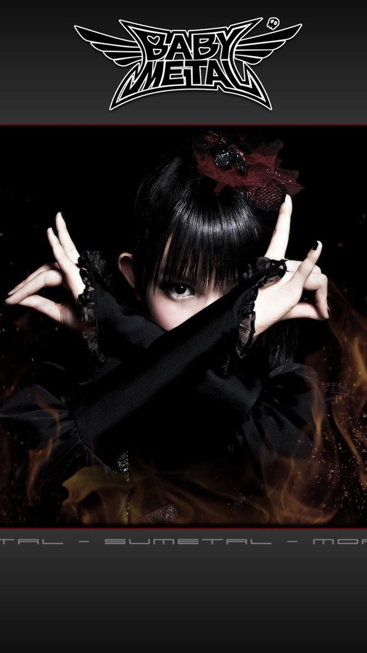 Babymetal 日本人の女の子グループ 05 750x1334 Iphone 8 7 6 6s 壁紙 背景 画像