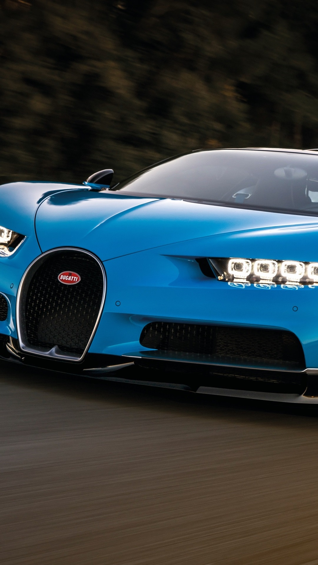 Wallpaper Blue Bugatti Chiron Supercar Speed 3840x2160 Uhd 4k Picture Image