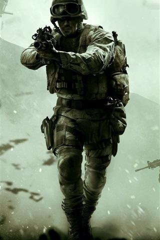 iPhone Papéis de Parede Call of Duty: Modern Warfare, Remastered
