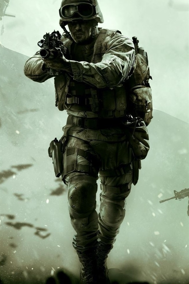 Call Of Duty Modern Warfare Remastered 640x960 Iphone 44s
