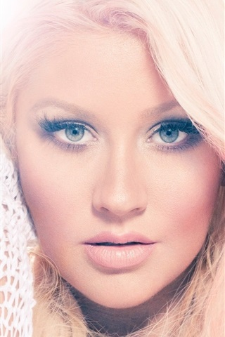 iPhone Wallpaper Christina Aguilera 17