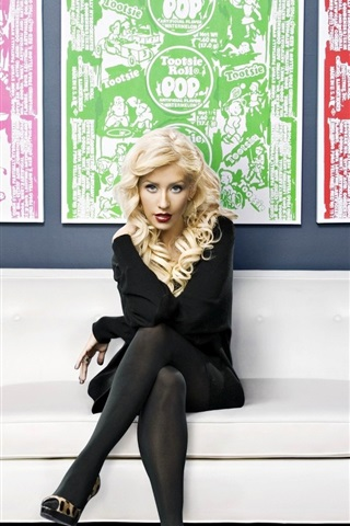 iPhone Wallpaper Christina Aguilera 18