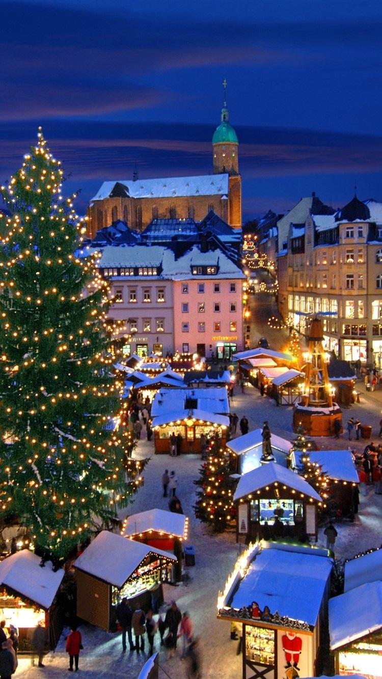 クリスマスマーケット アンベルク ブッフホルツ ドイツ 750x1334