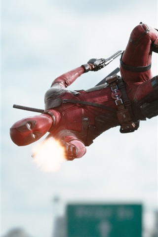 Deadpool Movie 2016 Widescreen 640x1136 Iphone 5 5s 5c Se