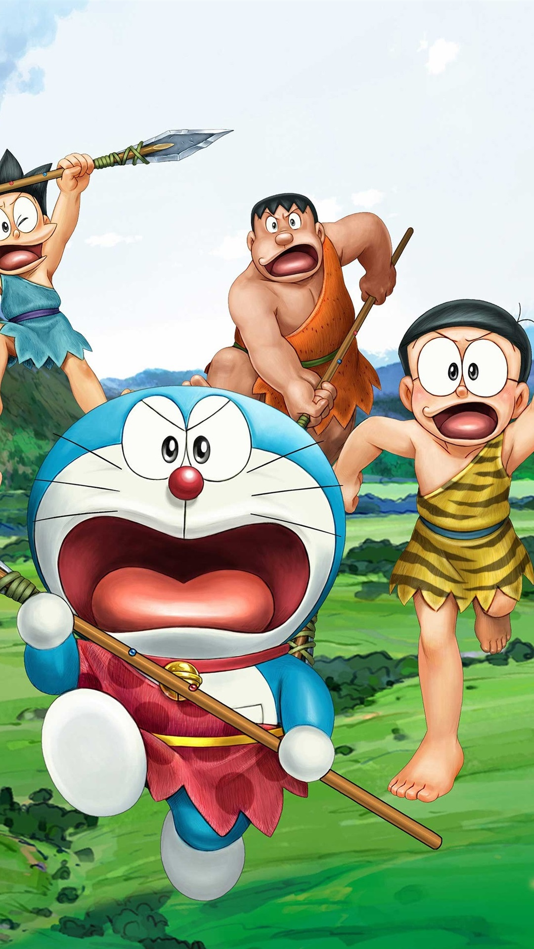 4000 Wallpaper Doraemon Iphone 4  Paling Keren