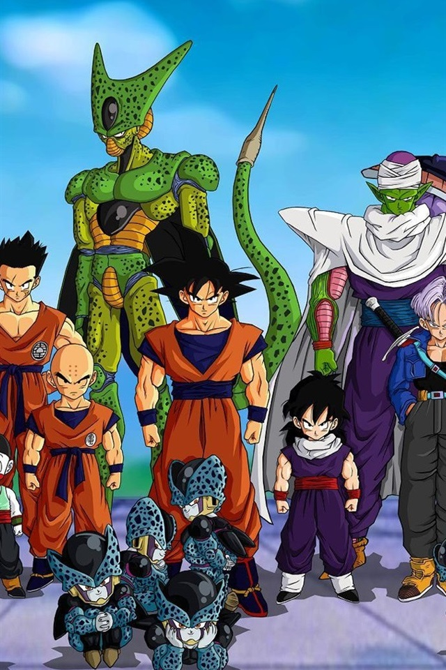 Dragon Ball Z Japanese Anime 640x960 Iphone 4 4s Wallpaper