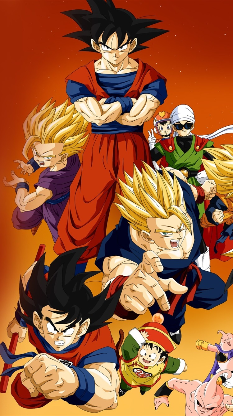 Dragon Ball Z Anime Hd 750x1334 Iphone 8 7 6 6s Wallpaper Background Picture Image