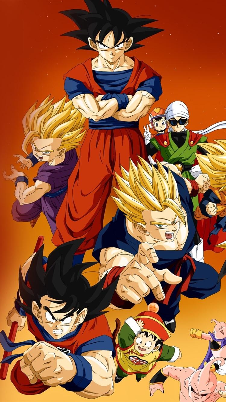 Dragon Ball Z Anime Hd 750x1334 Iphone 8 7 6 6s Wallpaper