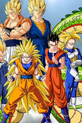 Dragon Ball Z Anime Widescreen 640x1136 Iphone 5 5s 5c Se Wallpaper