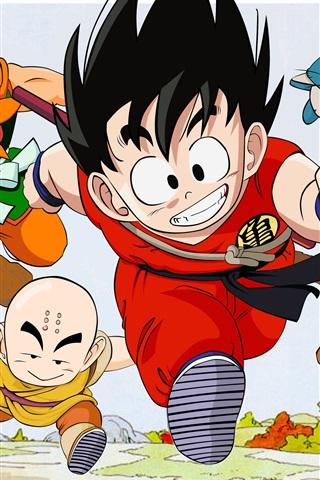 iPhone Wallpaper Dragon Ball, classic anime