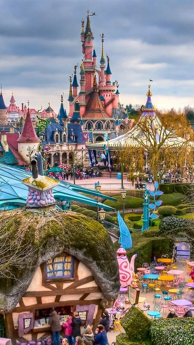 Wallpaper Fantasyland Disneyland Paris France 1920x1200