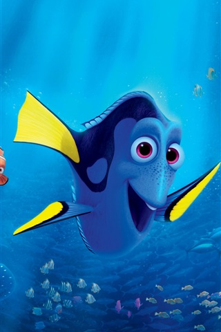 Finding Dory, animated movie 2016