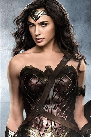 iPhone Hintergrundbilder Gal Gadot als Wonder Woman 2017