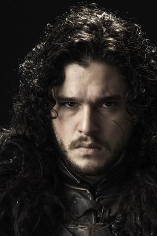 iPhone Hintergrundbilder Game of Thrones, Kit Harington als Jon Snow