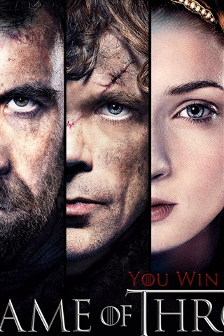 iPhone Wallpaper Game of Thrones, You win or you die
