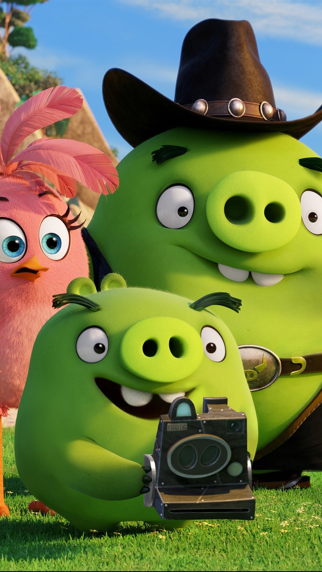 Green Pigs Angry Birds Movie 1080x1920 Iphone 8 7 6 6s Plus