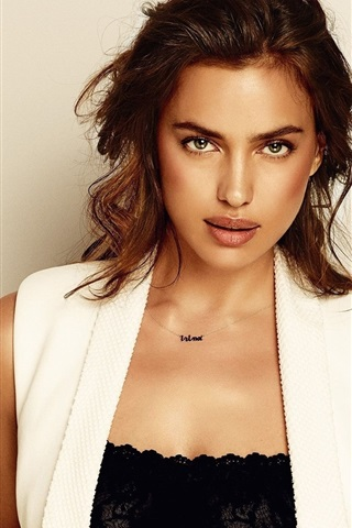 iPhone Wallpaper Irina Shayk 16