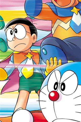 iPhone Wallpaper Japanese anime, Doraemon