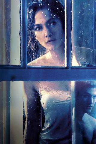 iPhone Wallpaper Jennifer Lopez, The Boy Next Door 2015 movie