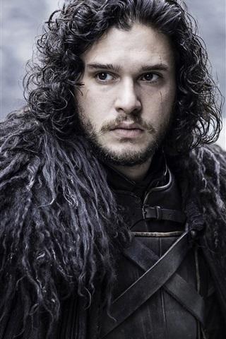 iPhone Hintergrundbilder Jon Snow in Game of Thrones
