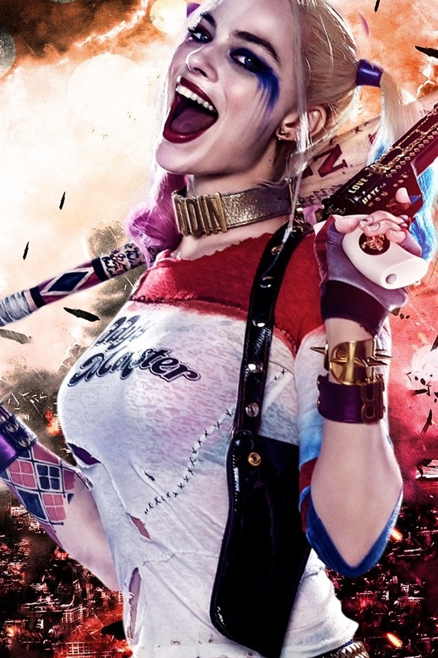 Wallpaper Margot Robbie In Suicide Squad 2016 1920x1080 Full Hd 2k Picture Image