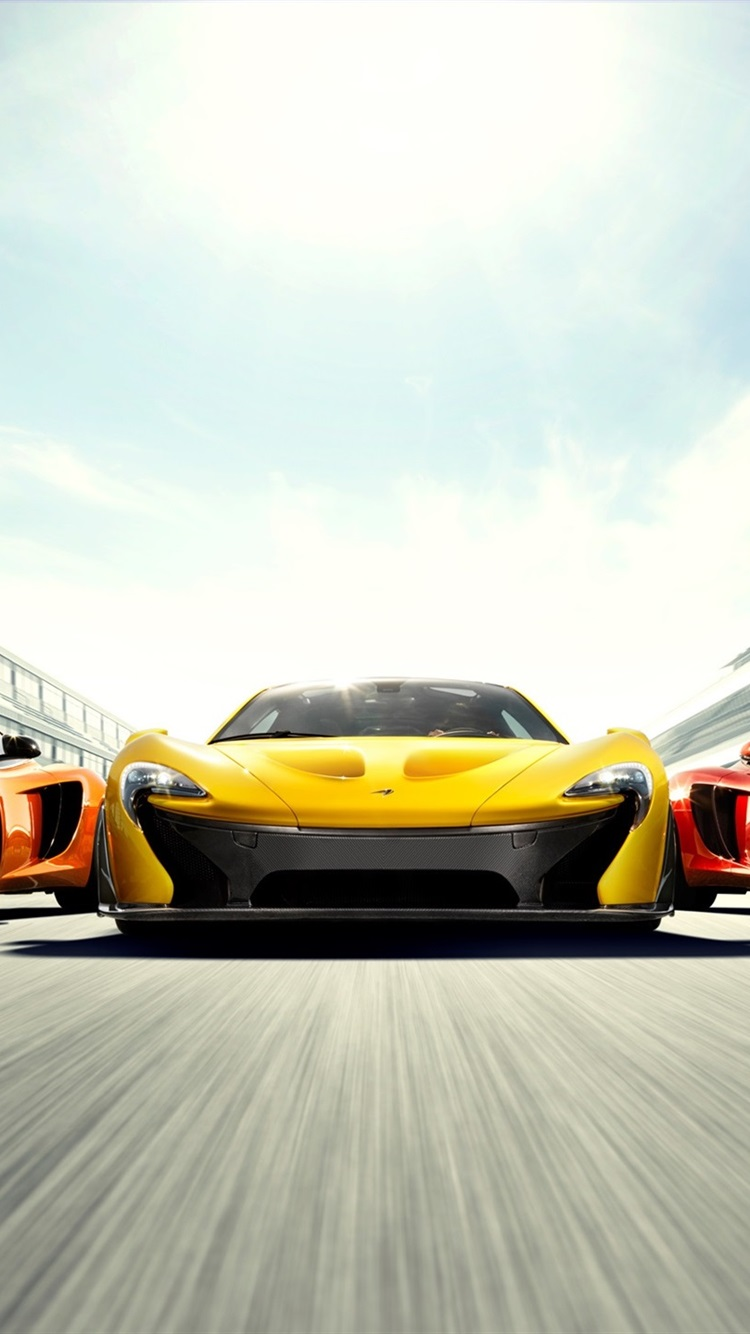 Wallpaper Mclaren P1 And Mp4 12c Supercars High Speed
