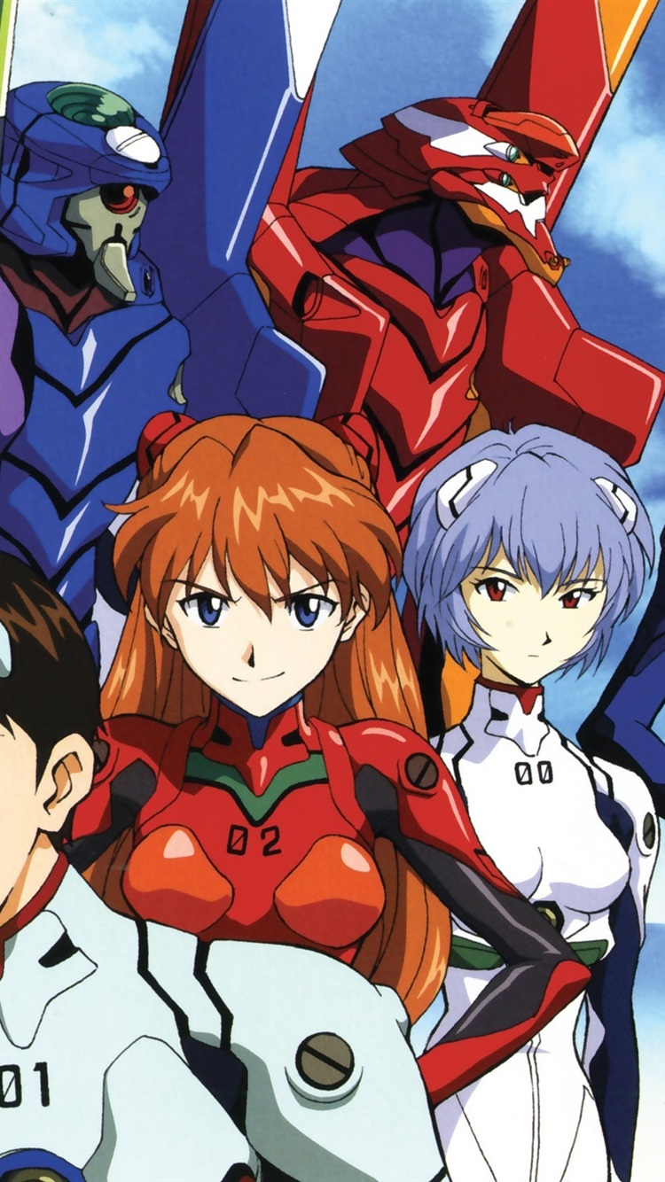Wallpaper Neon Genesis Evangelion Anime Widescreen 2560x1600 Hd