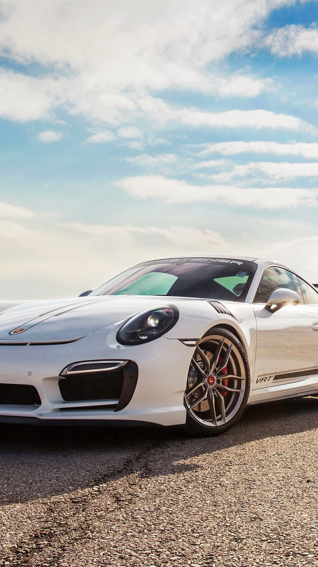 Porsche 911 Turbo V Rt White Supercar 1080x1920 Iphone 8 7 6