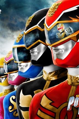 iPhone Papéis de Parede Power Rangers: Megaforce, séries de TV