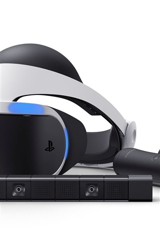 iPhone Wallpaper Sony PlayStation VR close-up
