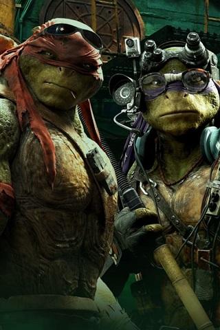 iPhone Обои Teenage Mutant Ninja Turtles фильм HD