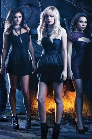 iPhone Hintergrundbilder The Secret Circle, CW-TV-Serie