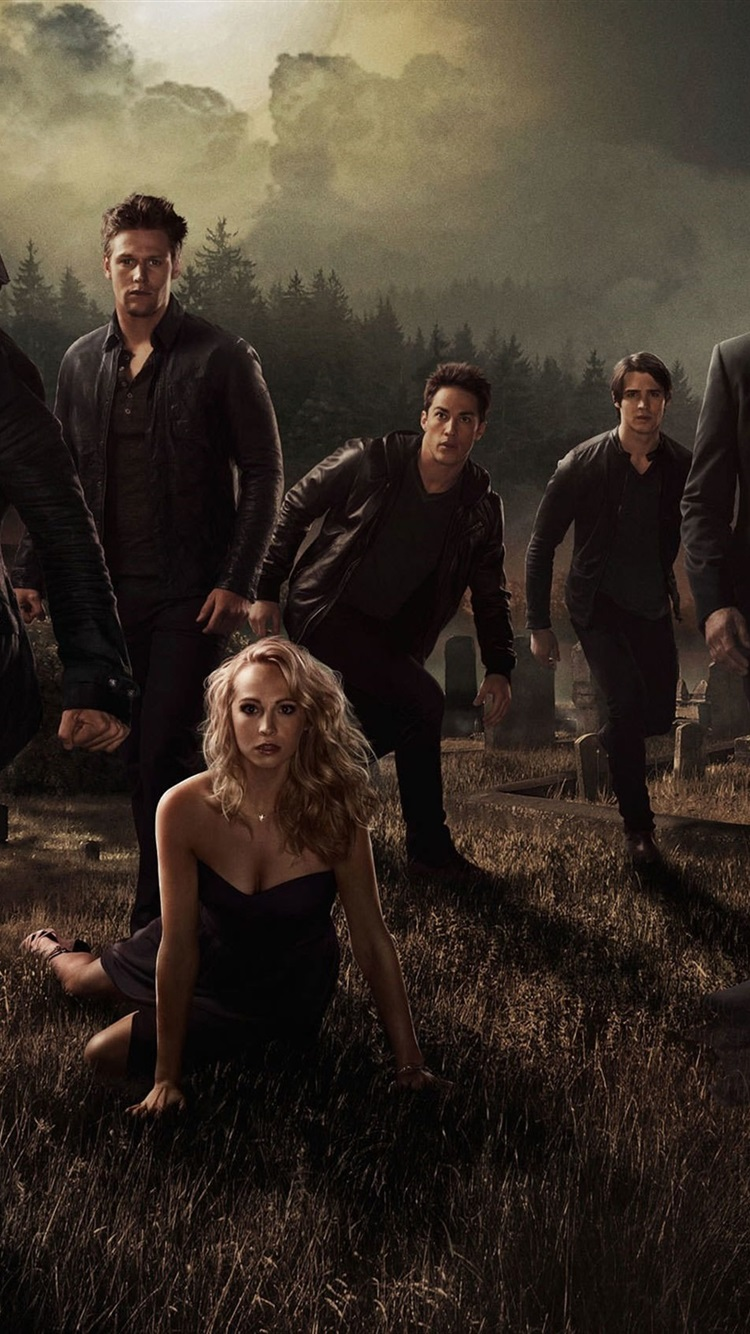 The Vampire Diaries La Temporada 7 750x1334 Iphone 8766s