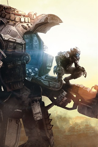 iPhone Wallpaper Titanfall, Xbox game