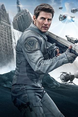 iPhone Wallpaper Tom Cruise, Oblivion