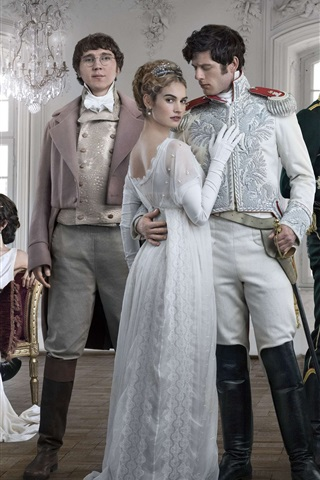 iPhone Wallpaper War and Peace, TV series 2016