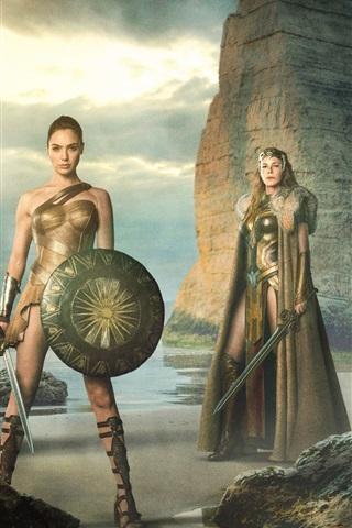 iPhone Hintergrundbilder Wonder Woman 2017