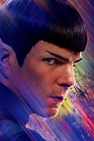 iPhone Wallpaper Zachary Quinto, Star Trek Beyond