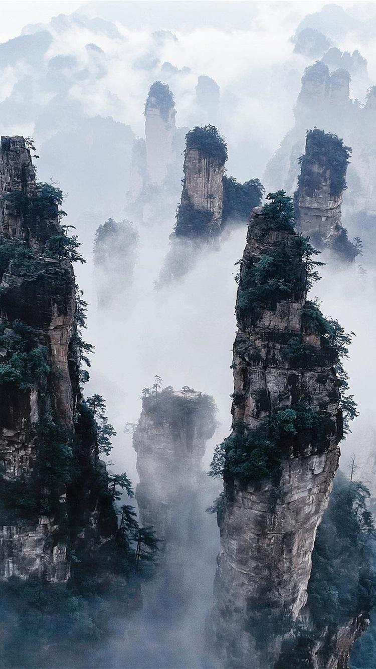 Fondos De Pantalla Parque Forestal Nacional De Zhangjiajie
