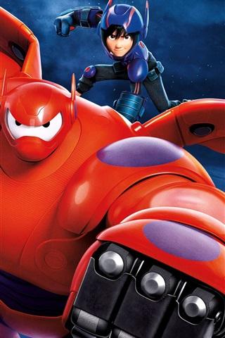 2014 Big Hero 6 750x1334 Iphone 8766s Wallpaper