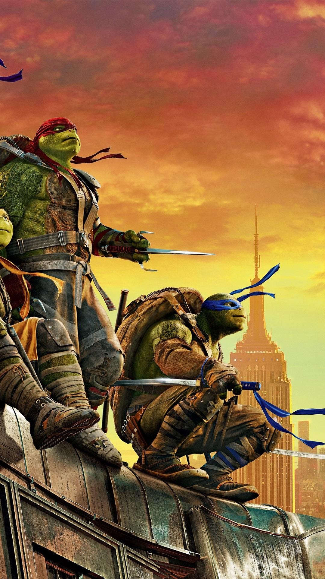 2016 Teenage Mutant Ninja Turtles Out Of The Shadows 1080x1920