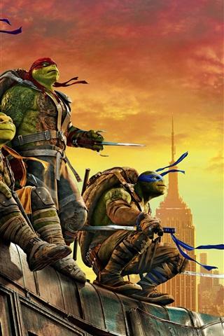 iPhone Wallpaper 2016 Teenage Mutant Ninja Turtles: Out of the Shadows