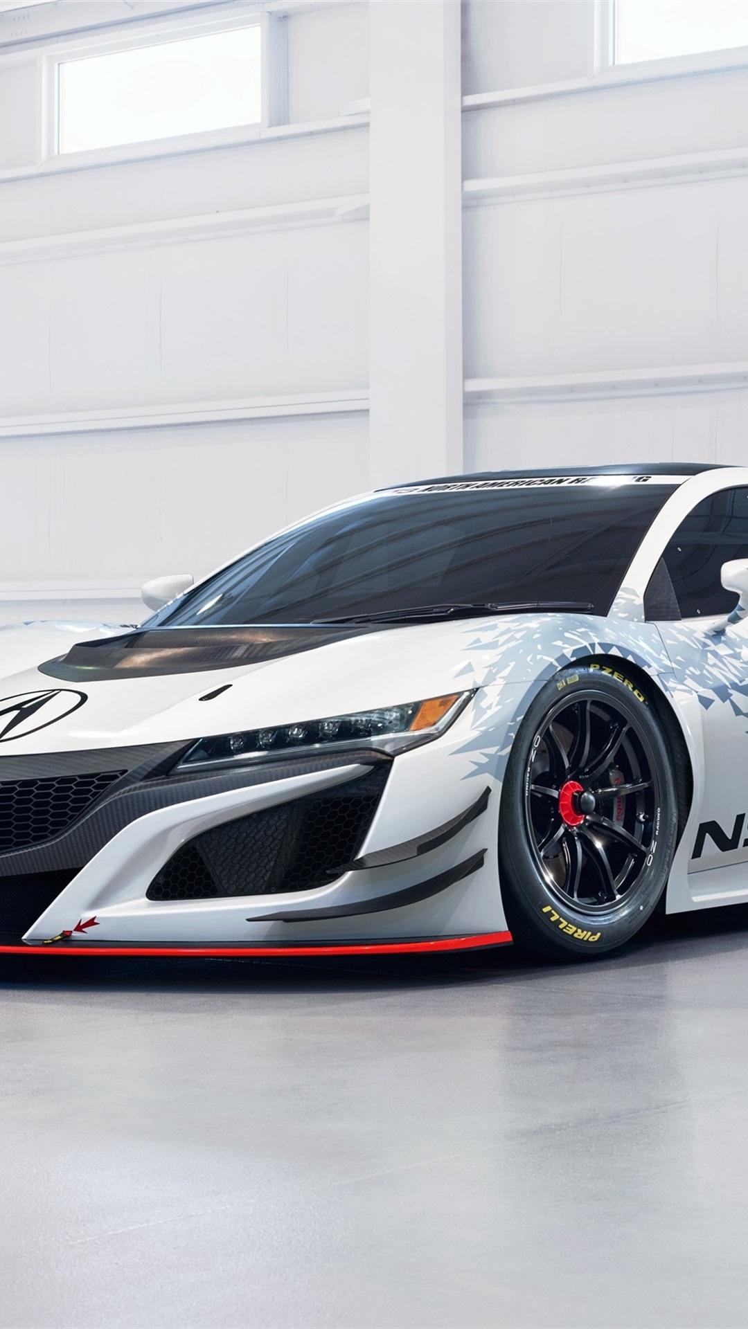 Acura NSX GT3 supercar 1080x1920 iPhone 8/7/6/6S Plus