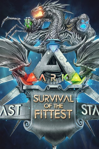 iPhone Wallpaper Ark: Survival Of The Fittest