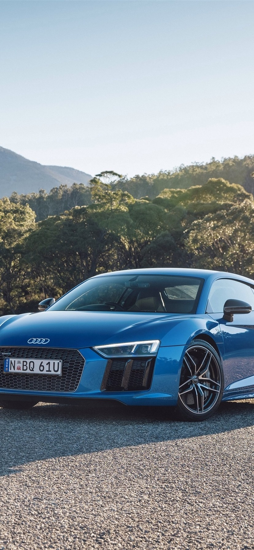 Audi R8 V10 Cars Yellow And Blue 1080x1920 Iphone 8 7 6 6s Plus Wallpaper Background Picture Image