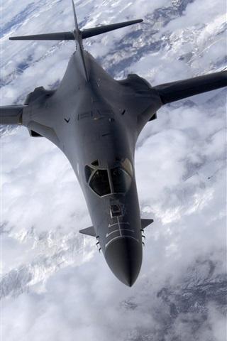 iPhone Wallpaper B-1B Lancer bomber