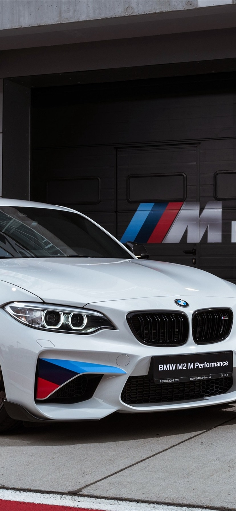 Bmw M2 F87 White Coupe 1080x1920 Iphone 8 7 6 6s Plus Wallpaper Background Picture Image