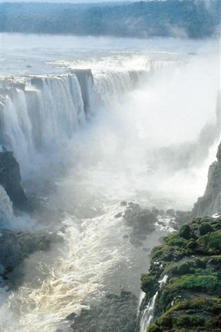 iPhone Wallpaper Beautiful Iguazu Falls